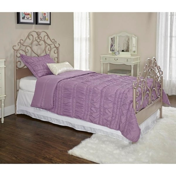 Powell Elizabeth Cream Metal Bed