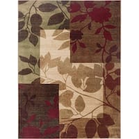 Home Dynamix Tribeca Multi-colored Abstract Floral 3-Piece Rug Set