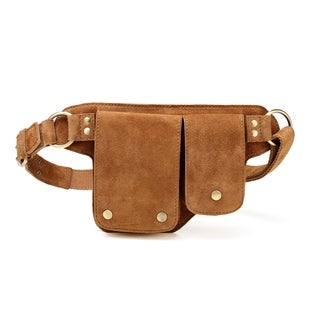 Flori Suede leather Waistpack