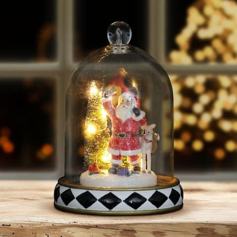 Santa Christmas Dome with LED Timer