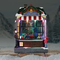Toy Shop with Animated Train - Automatic Timer