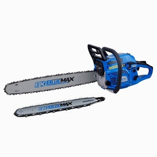 Blue Max 2 in 1 57cc 18in and 22in Combo Chainsaw