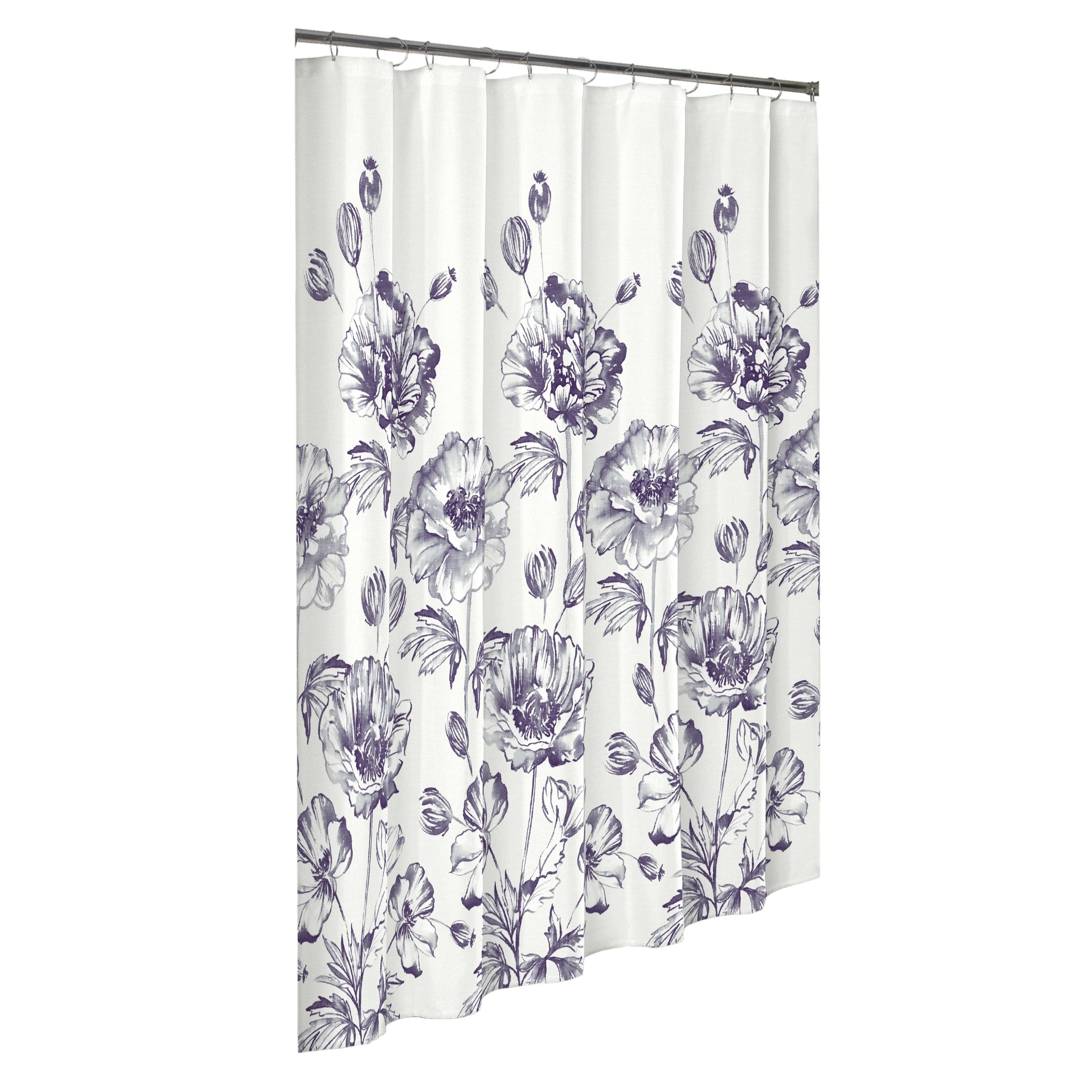 Marble Hill Jasmeen Shower Curtain Overstock 18236382