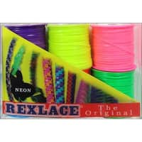 Pepperell Rexlace 6 Pk Neon Colors