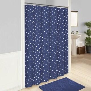 Vue Glam Stripe Shower Curtain
