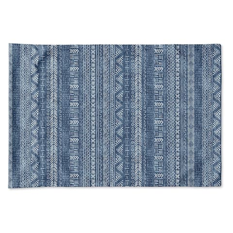 Kavka Designs Blue Landscape Pillow Case Becky Bailey