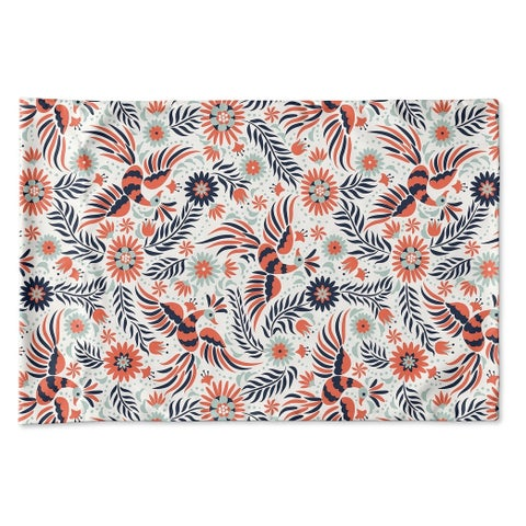 Kavka Designs Flock Pillow Case By Terri Ellis