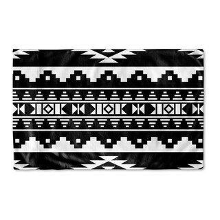 Kavka Designs Sedona Black Pillow Case By Marina Gutierrez