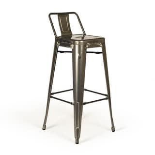 Aeon Furniture Rondo Steel Bar Stool (Set of 2)