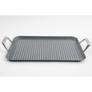BBQ Grill Tray Roaster with aluminum handles