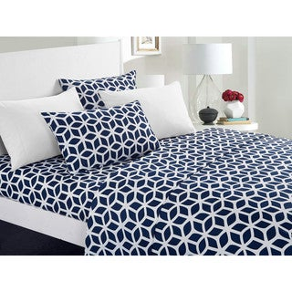 Chic Home Davitt 6 Piece Sheet Set with Deep Pocket Design - Includes Bonus Pillowcases