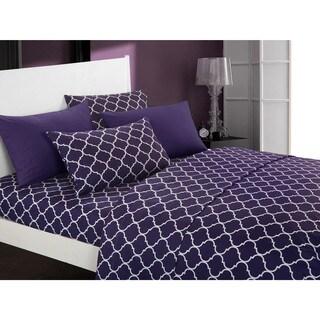 Chic Home Tymon 12 Piece Sheet Set Super Soft Geometric Pattern Print Deep Pocket Design - Includes Bonus Pillowcases