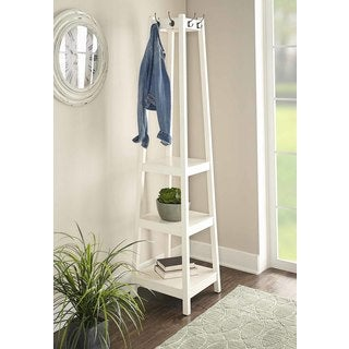 Helena White Coat Rack