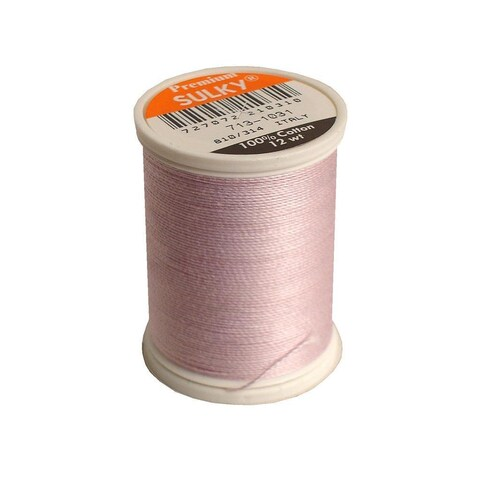 Sulky Cotton Thread 12wt 330yd Med Orchid