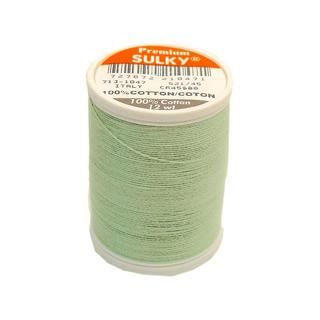 Sulky Cotton Thread 12wt 330yd Mint Green