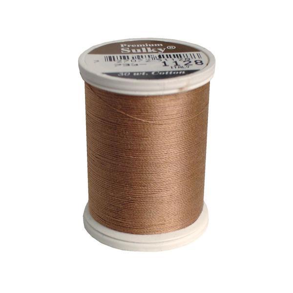 Sulky Cotton Thread 30wt 500yd Dk Ecru