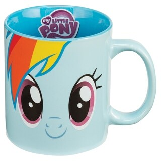 Vandor My Little Pony Rainbow Dash 12oz Ceramic Mug