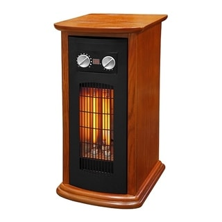 Source Green by LifeSmart R21-2W-IQT Space Heater Wood 1500w (Refurbished)