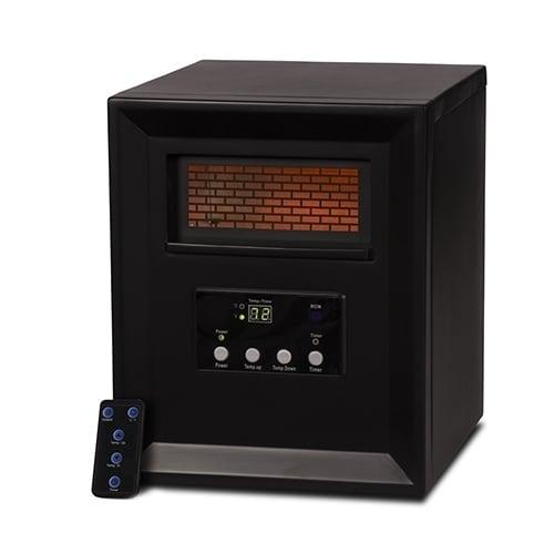 Source Green by LifeSmart R-2PC-1000 Space Heater 1500w Black (Refurbished)