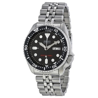 Seiko Men's Automatic SKX007K2 Stainless Steel Watch