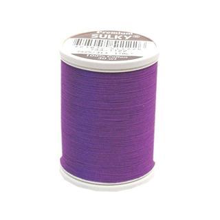 Sulky Cotton Thread 30wt 500yd Purple