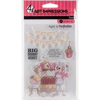 Art Impressions Clear Rubber Stamps