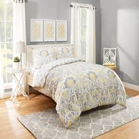 Marble Hill Rayna Reversible 3-Piece Comforter Set
