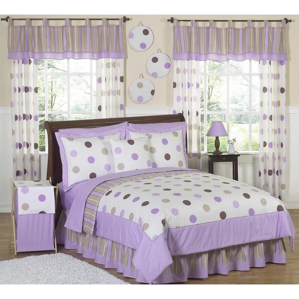JoJo Designs Girls 'Dots' 3-piece Full/Queen Comforter Se...