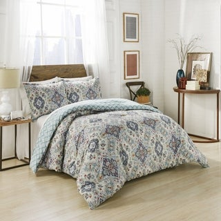 Marble Hill Ahana Reversible 3-Piece Comforter Set