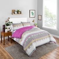 Boho Boutique Margo 3 Piece Reversible Comforter Set