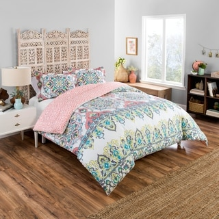 Boho Boutique Rozella 3 Piece Reversible Comforter Set