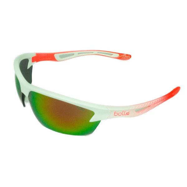 Bolle Sport Unisex Bolt Matte White/Fluo Orange w/ NXT TNS Fire Oleo Lens Sunglasses