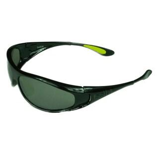 Bolle Sport Mens Spiral 11706 Shiny Black w/ TNS Gun Lens Sunglasses