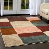 "Home Dynamix Tribeca Multi-colored Geometric (18.9"" x 31.5"") Scatter"