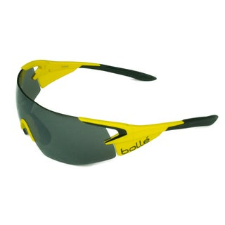 Bolle Sport Mens 5th Element Pro 12070 Matte Yellow w/ NXT TNS Gun Lens Sunglasses