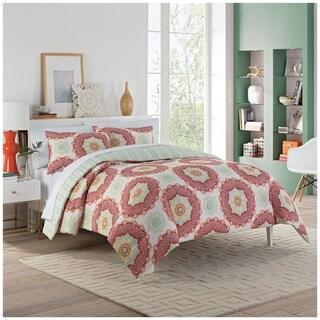 Vue Belle 3-Piece Reversible Comforter Set