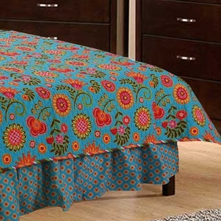 Cotton Tale Gypsy Floral 15-in Drop BedSkirt