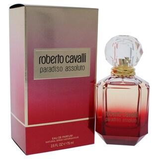 Roberto Cavalli Paradiso Assoluto Women's 2.5-ounce Eau de Parfum Spray