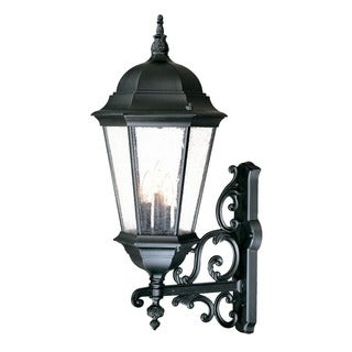 Acclaim Lighting Richmond Collection Wall-Mount 3-Light Outdoor Matte Black Light Fixture