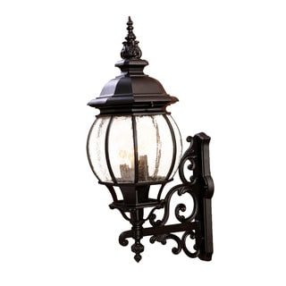 Acclaim Lighting Chateau Collection Wall-Mount 4-Light Outdoor Matte Black Light Fixture
