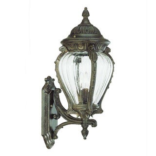Acclaim Lighting Nottingham Collection Wall-Mount 3-Light Outdoor Black Coral Light Fixture