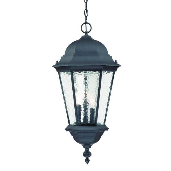 Shop Acclaim Lighting Telfair Collection Hanging Lantern 3