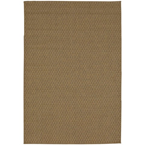 Mohawk Oasis Jackson Natural Brown Area Rug - 10'6 x 14'
