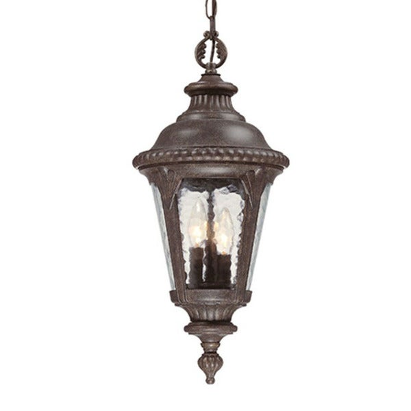 Acclaim Lighting Surrey Collection Hanging Lantern 3 Light Outdoor Black C Fixture