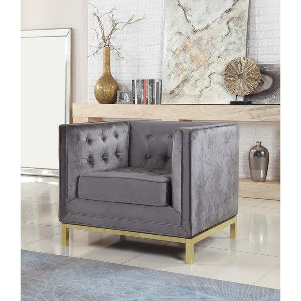 Shop Chic Home Evie Velvet Plush Modern Contemporary