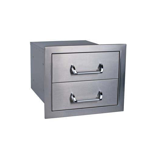 Double Drawer - Silver