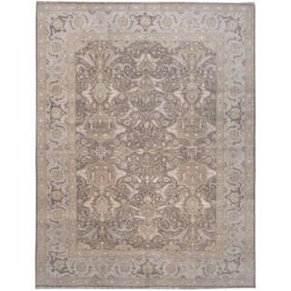 Wool and Silk Tabriz Rug - 8' x 10'5''