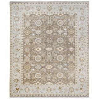 Wool and Silk Tabriz Rug - 8' x 10'4''
