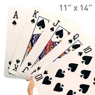 Giant Playing Cards - Novelty Jumbo Cards Large Print
