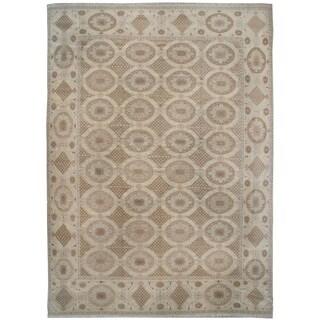 Wool Embossed Rug (9'10'' x 11'3'') - 9'10'' x 11'3''